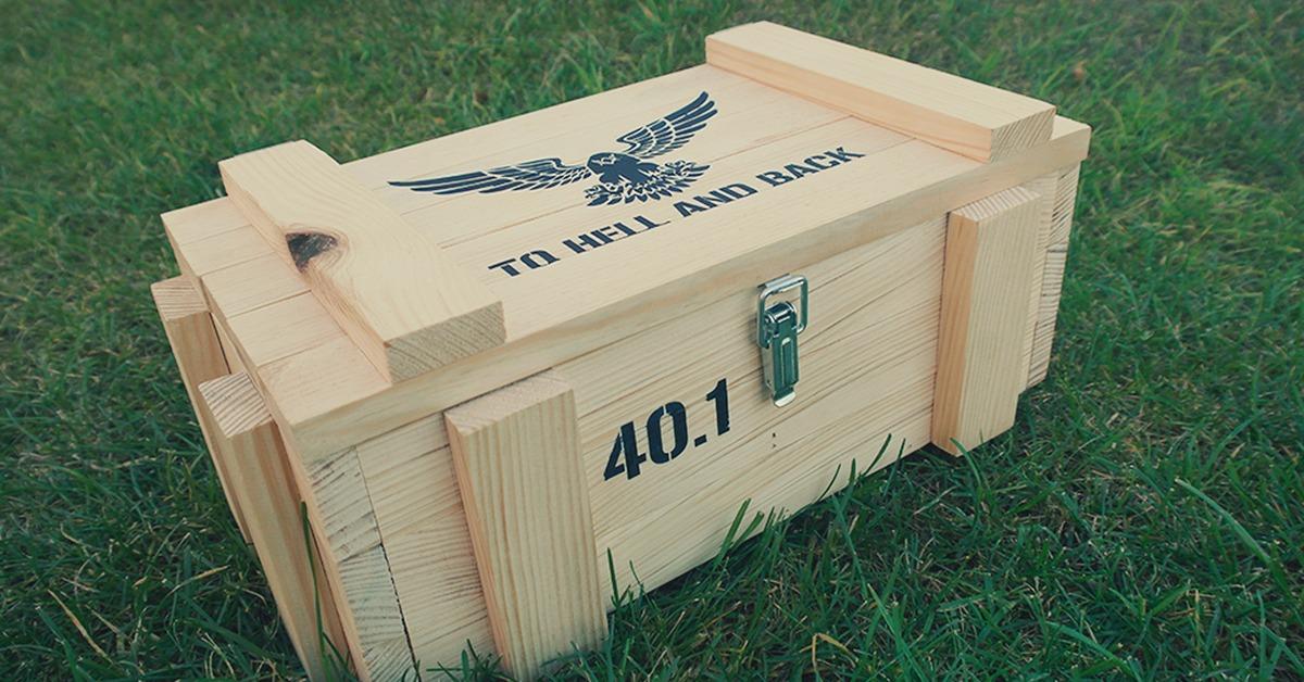 Деревянный ящик для подарка своими руками
