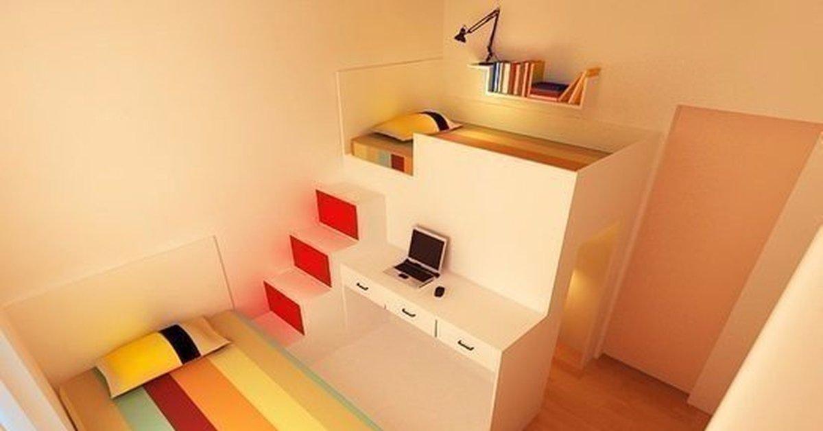Как сделать компактной комнату 567