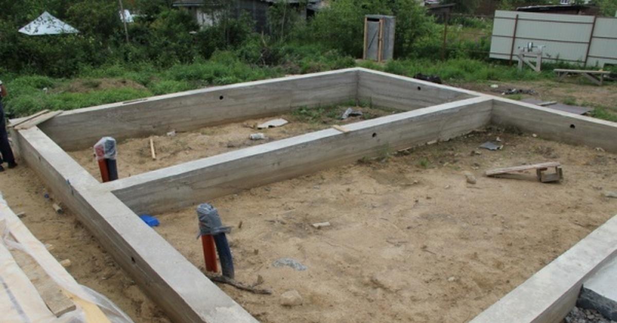 Фундаменты для каркасных домов