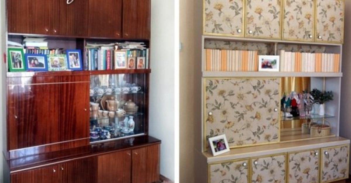 Как превратить старый шкаф в новый своими руками