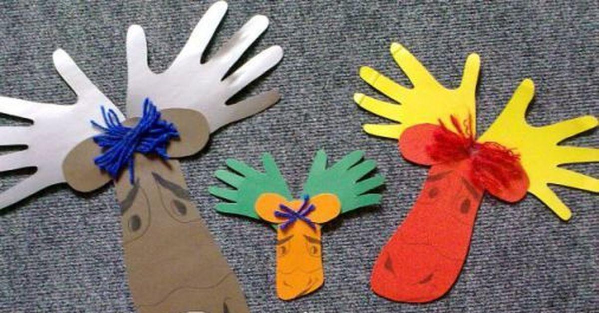 поделки детям своими руками из лесных материалов