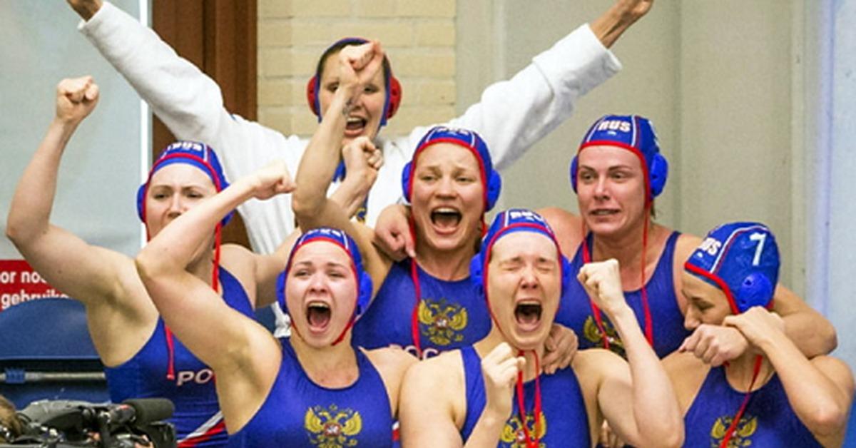 сборная россии по водному поло фото