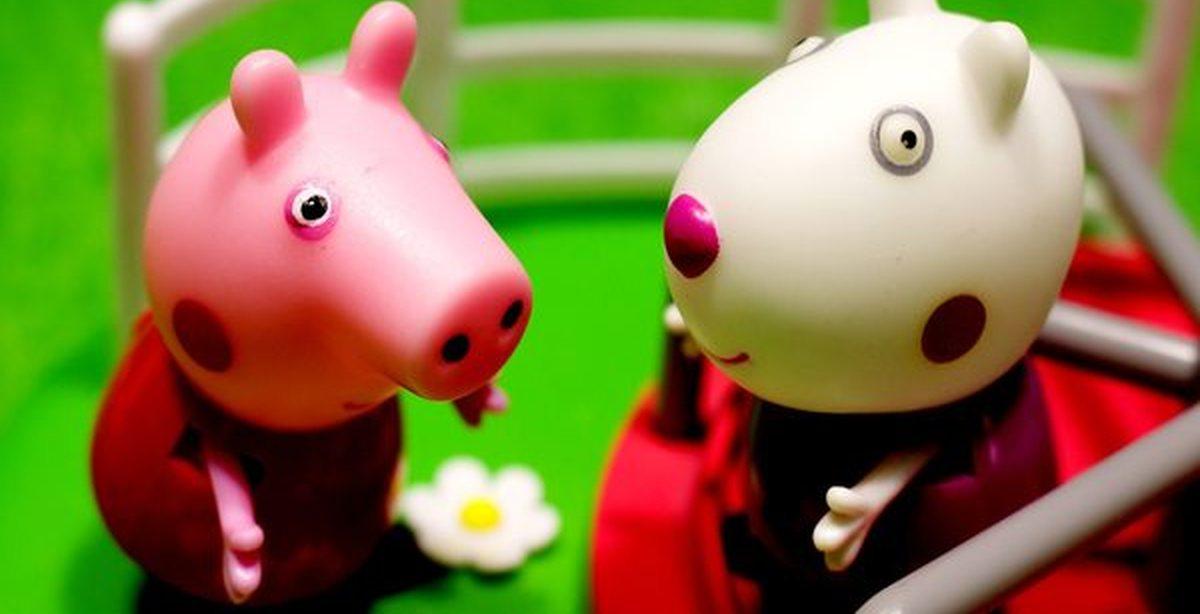 Онлайн игра Свинка Пеппа: Супер прыжок Свинка
