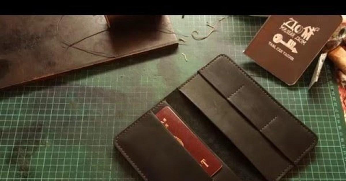 Ремонт кошелька из кожи видео