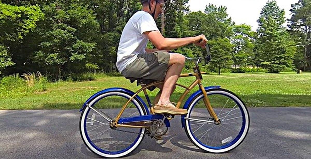 Похудеть катаясь на велосипеде