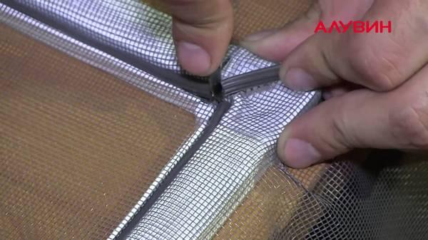 Крепление для москитной сетки своими руками