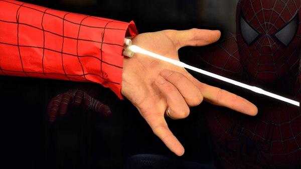 Как сделать паутину на руку