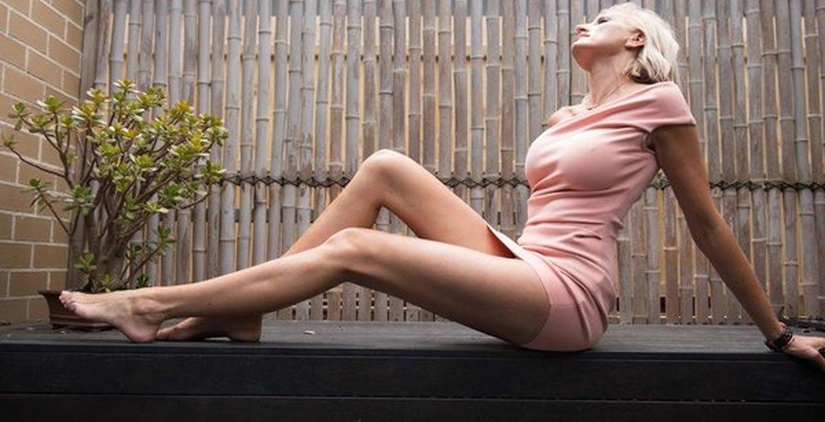 женское фото длинноногие