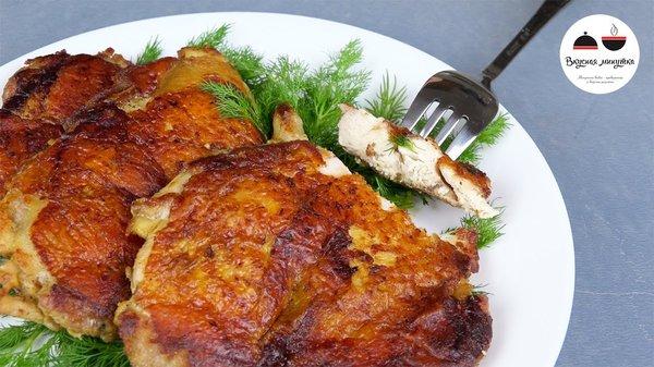 Вкусно приготовить куриную отбивную в